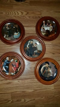 Norman Rockwell plates collection  Toronto, M1H