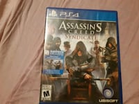 Assassin's Creed Syndicate PS4 game case Waterloo, N2J 2A2