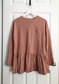 Zara Women's long sleeve top size small Mississauga, L5M 0H2