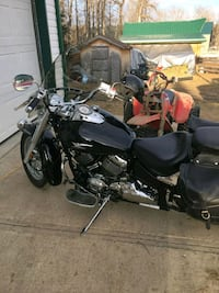 black and gray touring motorcycle Red Deer