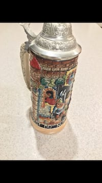 Authentic Antique German Beer Stein from West Germany Bowie, 20721