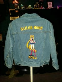 Vintage sailor moon denim jacket Toronto, M9M 1P1