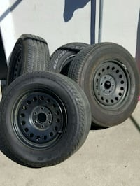 17 steelies different tires on 2 rims Baldwin Park, 91706