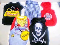 Male Dog Shirts Clothes