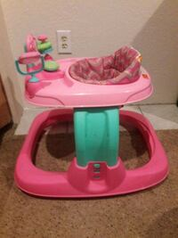 baby's pink and teal walker with play center Socorro, 79927