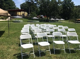 Folding chairs rental only!!!!
