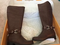 Unisa Brown Boots Ashburn