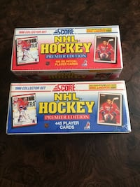 Score NHL hockey premier edition 445 player cards boxes Jacksonville, 32224