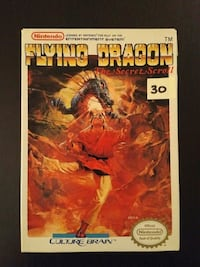 Flying Dragon for Nintendo NES with original box  Vaughan, L4L 6Z5