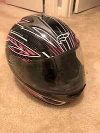Women's Fulmer black and pink helmet. Worn about two times before my wife made me sell my bike.  Leesburg, 20175