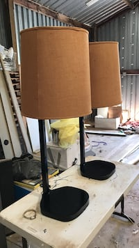 Black and Tan - wooden lamps Placerville, 95667