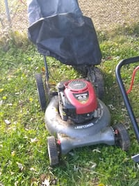 black and red push mower Rockville, 20851