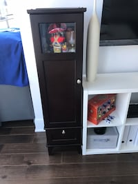 Cabinet brown: Small brown furniture in a good condition multiple used Montréal, H3B 3C3