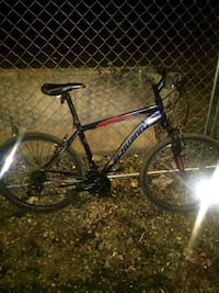 black and red hardtail mountain bike Seattle, 98101