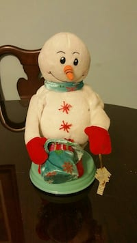 Moving and jingle snow man Oolitic, 47451