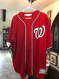 Officially licensed #34 Washington Nationals Jersey size XL Pass Christian, 39571