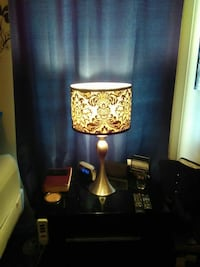 Gold and black lamp Baltimore, 21224