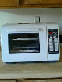 white and black franklin toaster oven El Paso, 79901