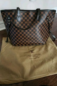 damier ebene Louis Vuitton leather tote bag Mississauga, L5M 6C4