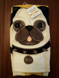 Pug kitchen dish towels Frederick