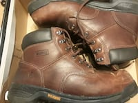 Size 12 Steel toe boots Woodbridge, 22191