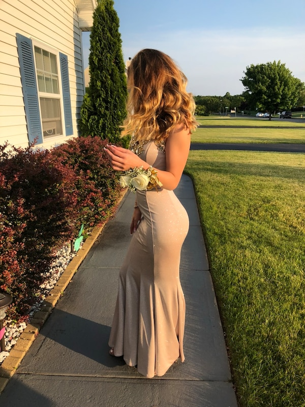 796a0731179 Used Homemade size Small Prom dress for sale in Ridge - letgo