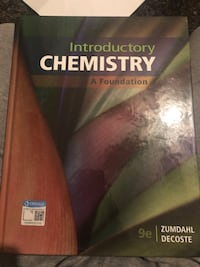 Chemistry text book for college  Georgetown, L7G 5T3