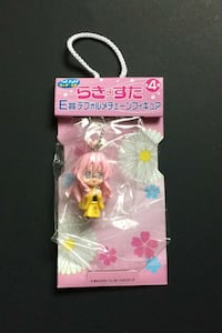 Lucky Star Anime Manga Girl Keychain Figure Sega Prize Japan Import
