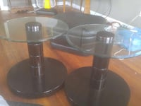 two round glass tables Providence, 02904