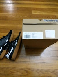Reebok revenge plus black/white/gum 9.5 Norfolk, 23517