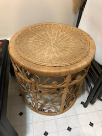 Side table hand craft North Vancouver, V7P 3C1