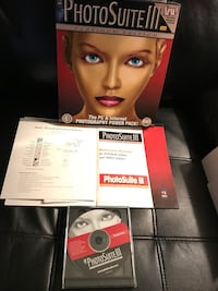 PhotoSuite lll Platinum Edition for Windows 95/98 or NT 4 Sterling, 20164