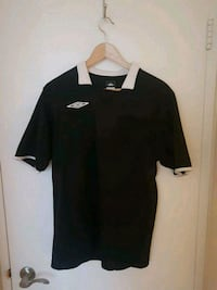 Umbro Collared Shirt (Black) Calgary, T2P 1V5