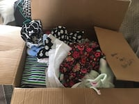 Baby girl clothes NB-9 months and blankets Colorado Springs, 80926