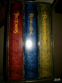 Lord of the rings dvds set