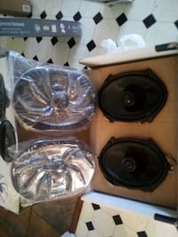 black and gray subwoofer speaker Tifton, 31794