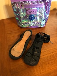 Rutherford Irish dance shoes child size 13 null