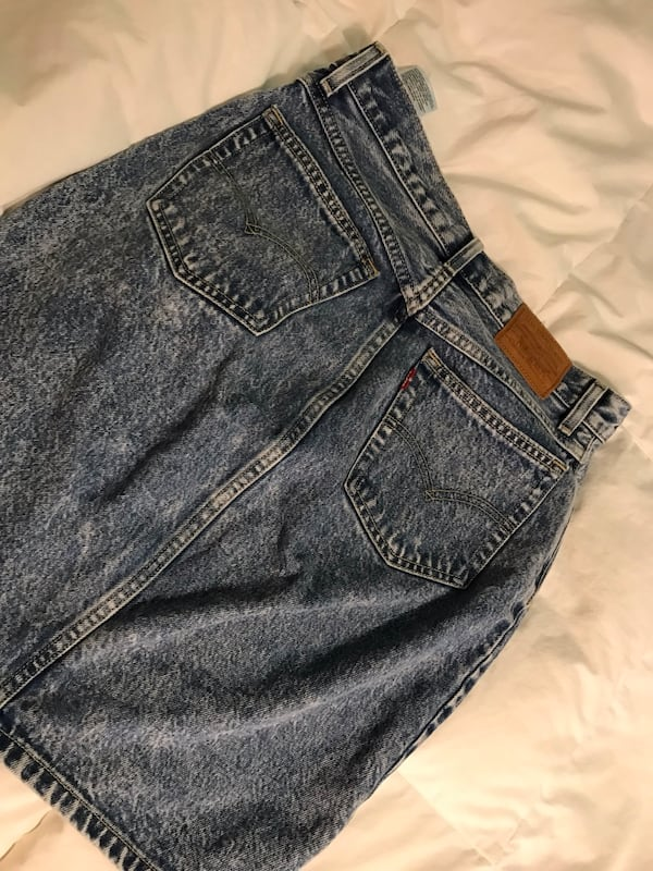 Old school Levi's skirt size 26  0