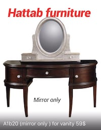 A1b20 (mirror only) for vanity Dallas, 75219