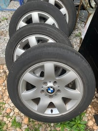 BMW 3 Series - 4 Tires and Rims Ashburn, 20147