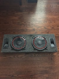 Pyramid speakers very good for small amp Toronto, M9W 3B3