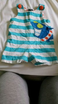 Mudpie Romper size 6 to 9 Months  Columbia, 38401