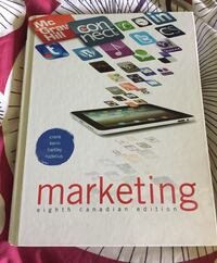 Marketing 8th Canadian Edition College University Textbook Oakville