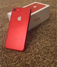 RED IPhone 7 128GB unlocked Kitchener, N2E