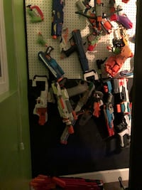 Huge Nerf lot with accessories-worth $500 on eBay Huntington Beach, 92649