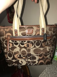 Authentic coach purse.  Normal use