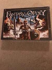 Fantasy-Opoly board game - NEW Sterling, 20165