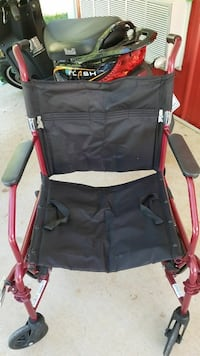 Nice Medline Transport Chair ...from Walgreen..