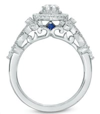 Vera Wang Engagement Ring Calgary