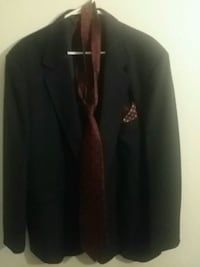 Navy blue notch lapel suit jacket Houston, 77084